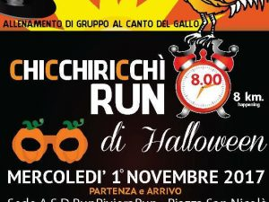 A Pietra Ligure la Chicchiricchì Run di Halloween