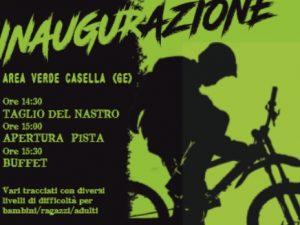 Domenica 29 ottobre l'inaugurazione del Casella Bike Park
