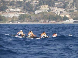 Canottieri Sanremo leader della combinata Riviera dei Fiori e Coastal Race