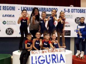 Liguria seconda al Trofeo delle Regioni di Lignano Sabbiadoro