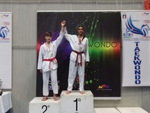 Lanterna Taekwondo due volte vincente al Tuscany Open di Arezzo