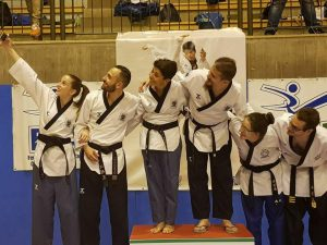 En plein Taekwondolimpico Genova a Schio