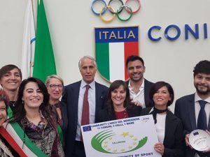 """Presentato a Roma """"L'arco del Benessere"""" e consegnate le benemerenze europee ACES"""