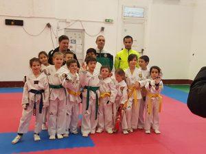 Attività giovanile con corazze elettroniche alla Lanterna Taekwondo