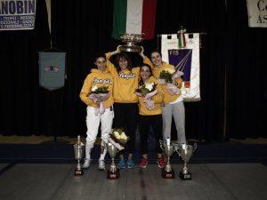 La Cesare Pompilio alza il Trofeo Basile