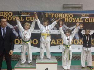 Dieci medaglie per la Lanterna Taekwondo Genova a Torino