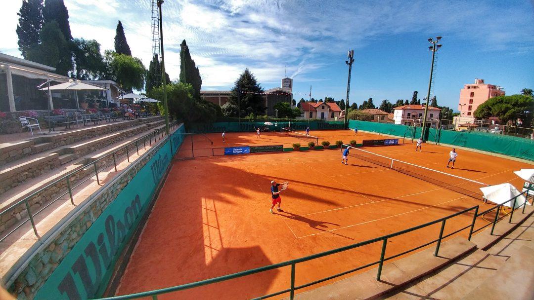 Uno dei campi del TC Sanremo