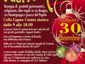 """""""Fuori dal Natale"""" a Celle Ligure"""