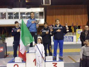 Oro e bronzo per Filippo Armaleo a Grenoble