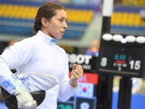 Mara Navarria seconda al GP di Doha