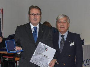 Roberto Pizzorno Stella d'Oro al Merito Sportivo