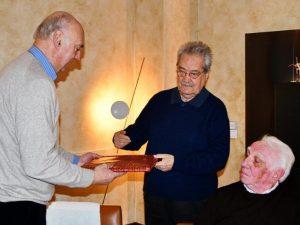 La pallavolo genovese festeggia il 70° di Renato Fegino