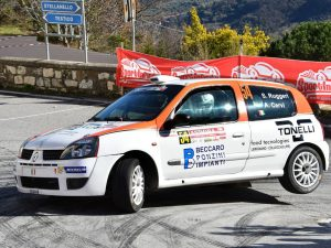 Ronde della Val Merula: parte bene Lanterna Corse Rally Team