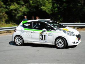 Gianluca Caserza ed Erika Badinelli nella IRCup sulla Peugeot 208