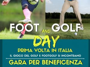 """Foot and Golf day"": il programma della sfida di Rapallo"