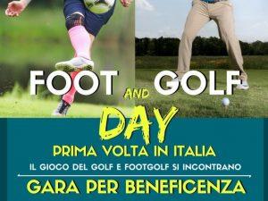 """""""Foot and Golf day"""": il programma della sfida di Rapallo"""