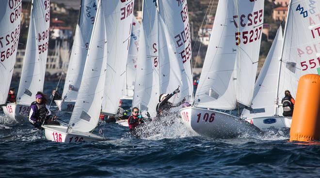 Marina degli Aregai: Europei 470 nel vivo