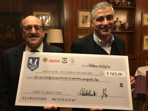 """""""Foot and golf Day"""": a Rapallo in buca per beneficenza"""