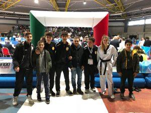 Tris di medaglie Lanterna Taekwondo ai Tricolori Cadetti e Juniores