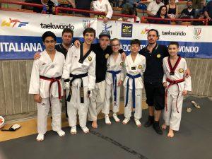 Lanterna Taekwondo 27 volte sul podio a Quiliano