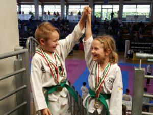 Taekwondolimpico Genova leader nelle Forme a Giaveno
