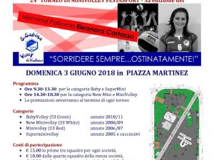 Torna il Memorial Eleonora Cartasso