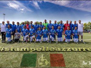 Nazionale Calcio amputati a Multedo: un ricco programma