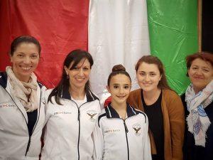 Bianca Folegnani undicesima allieva d'Italia