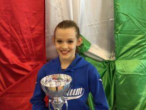 Alice Taglietti regala il titolo tricolore alla PGS Auxilium Genova
