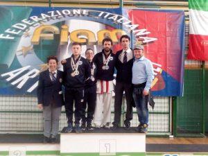 Sei medaglie per il CSK Liguria alla Coppa Italia Wadokai