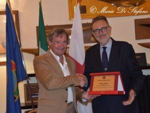 Il presidente FISI Roda ospite d'onore della conviviale di maggio
