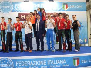 Ecole de Savate in festa dopo i Tricolori di Rimini