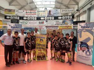 La Colombo batte il Volley Team Finale, vince il titolo regionale e fa poker!