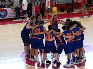 Basket Pegli centra i quarti di finale della fase finale Under 14 femminile