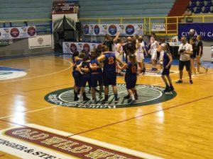 Basket Pegli tra le prime 4 d'Italia con le Under 14
