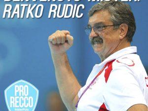La Pro Recco punta sul Mito: Ratko Rudic è il nuovo allenatore