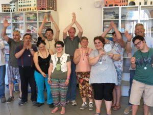 Chiavari Scherma chiude l'anno agonistico e festeggia il 1° Trofeo Anffas