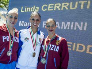 Linda Cerruti illumina lo Stadio del Nuoto di Roma, bene RN Savona