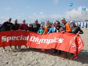 Special Olympics: Eunike prosegue gli allenamenti in mare