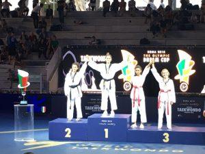 Lanterna Taekwondo plurimedagliata a Roma