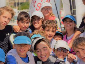 I vincitori della selezione zonale Optimist di Andora