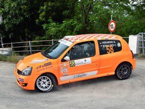 Lanterna Corse sul podio con Verardo al Rally del Moscato