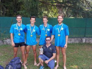 Doppietta tricolore per il Rowing Club Genovese a Corgeno, titolo anche per la sanstevese Ramella