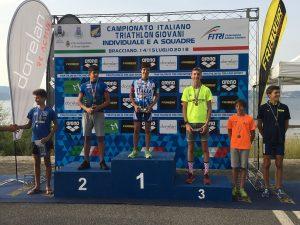 Alessio Trincheri  campione italiano Giovani a Bracciano