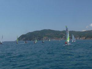 Club del Mare di Diano Marina: oltre 30 equipaggi  per il raduno RS Feva