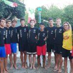 I giovani atleti della Colombo Volley