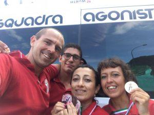 Sabazia campione d'Italia all'Idroscalo di Milano