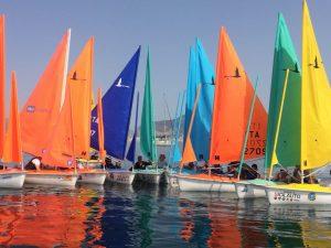 Genova capitale della Vela paralimpica con il Tricolore  Hansa 303