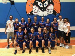 Basket Pegli vola in Lettonia per l'European Girls Basketball League