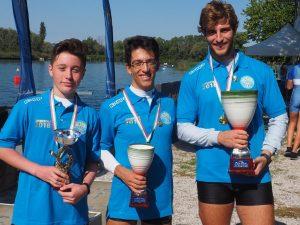 Speranza, Elpis e Rowing campioni a San Giorgio